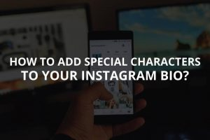 Add Special Characters or Fonts